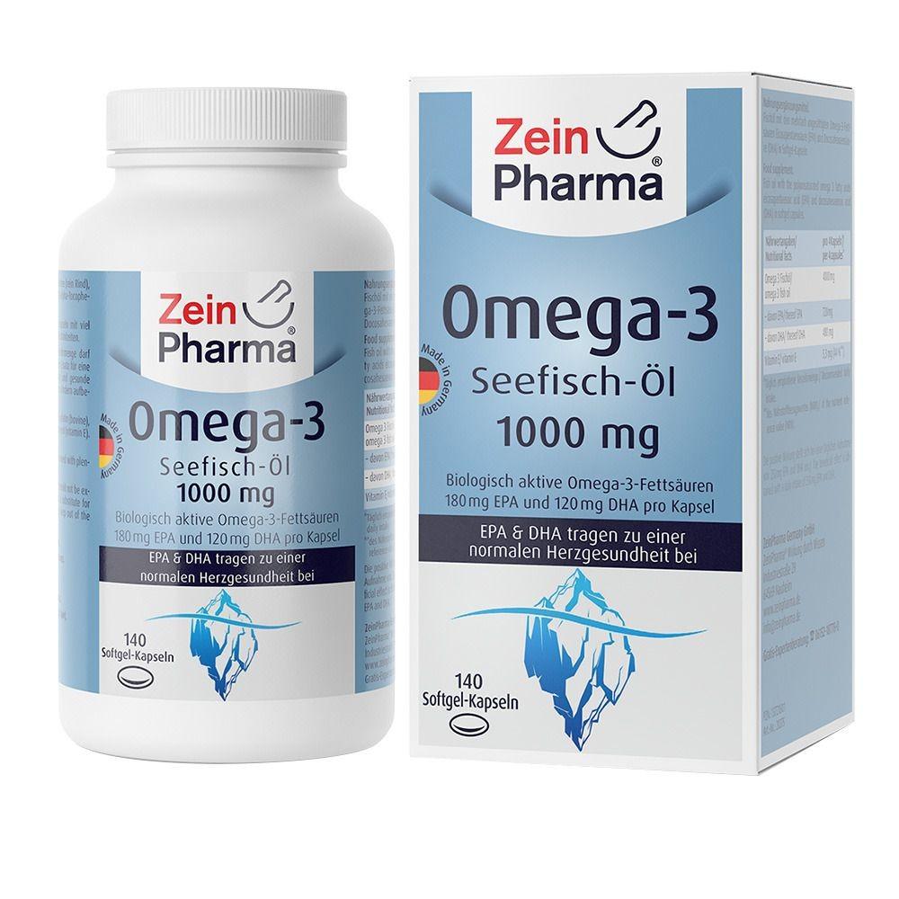 Omega 3 Seefisch-Öl  1000mg